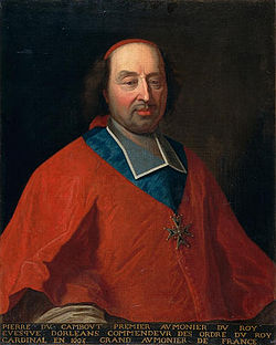 Rigaud - cardinal Pierre de Cambout, evêque d'Orléans.jpg