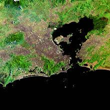 Região Metropolitana do Rio de Janeiro, a segunda maior região metropolitana do Brasil e terceira da América do Sul, com cerca de 11,8 milhões de habitantes.