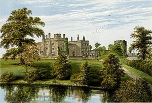 Ripley, North Yorkshire - 'Ripley Castle', 1816 by Francis Orpen Morris