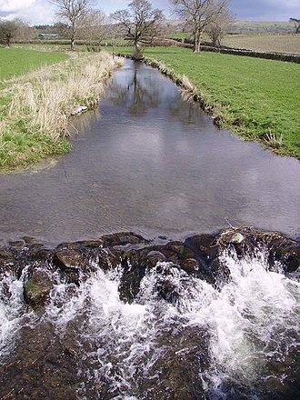 River Eea - The Eea near Cark