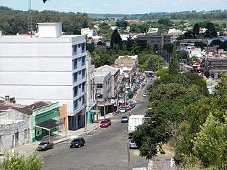 Rivera - Principal street of Rivera