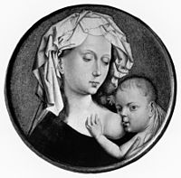 Robert Campin - Madonna and Child - Walters 37297.jpg