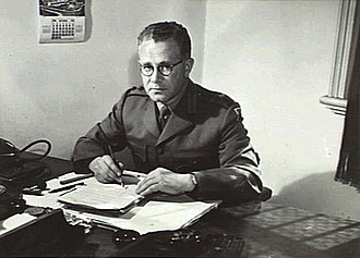 Robert Madgwick - Colonel Robert Madgwick as Director of Army Education, Melbourne, 1944