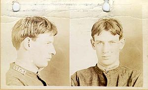 Robert Stroud - Image: Robert Stroud c.1909