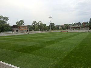 Roberts Stadium (soccer stadium) - Image: Roberts Stadium