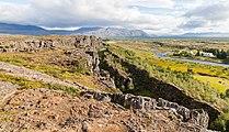 Roca de la Ley, Parque Nacional de Þingvellir, Suðurland, Islandia, 2014-08-16, DD 004.JPG