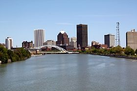 Skyline of Downtown Rochester