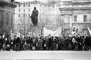 Rock Against Racism - Rock Against Racism march in Trafalgar Square, 1978