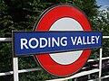 Roding Valley stn roundel2.JPG
