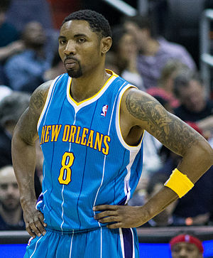 Roger Mason Jr. - Mason with the Hornets