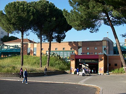 How to get to Stazione Di Monte Mario with public transit - About the place