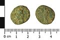 Roman coin, radite of an unknown Emperor (Obverse and reverse). (FindID 660882).jpg