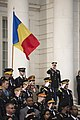 Romanian Land Forces Chief of Staff places wreath at the Tomb of the Unknown Soldier (31956210383).jpg