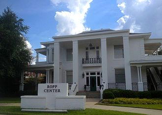 Louisiana Tech University - Ropp Center: The oldest existing building on the Tech campus