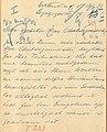 Rosa Buchthal – Brief an den Oberbürgermeister 1 von 2 – Stadtarchiv Dortmund – 4507 (1).jpg