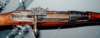 Ross rifle - Ross rifle in the Royal Canadian Regiment Museum in London, Ontario