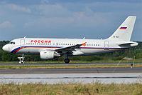 VQ-BAQ - A319 - Rossiya