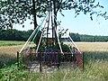 Rostki - The crucifix on the Stylągi road.JPG