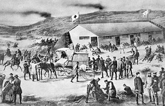 International Committee of the Red Cross - The Red Cross in action in 1864