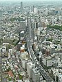 Route 3 (Shuto Expressway) as seen from Roppongi Hills Mori Tower.jpg