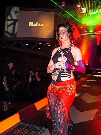 "Nicole Raczynski - The ""Voodoo Queen"" Roxxi Laveaux at the TNA Impact! Zone."