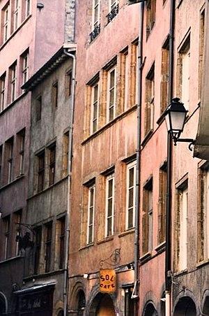 Vieux Lyon - Image: Rue du Boeuf