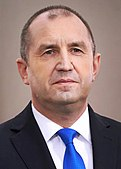 Porträt von Präsident Rumen Radev