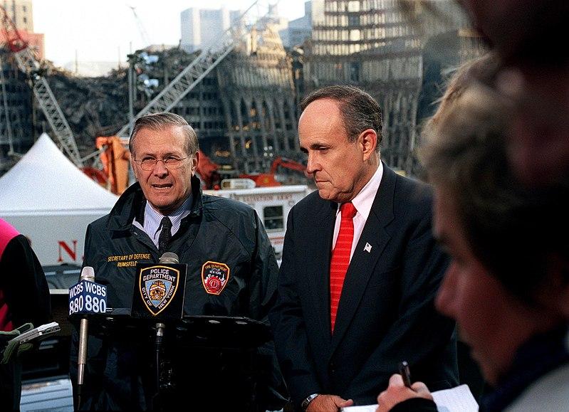 Rumsfeld and Giuliani at Ground Zero.jpg