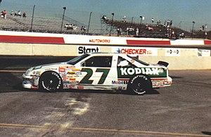 Rusty Wallace - 1989 car at Phoenix with Kodiak paint scheme