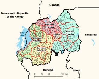 Sectors of Rwanda - The sectors of Rwanda.