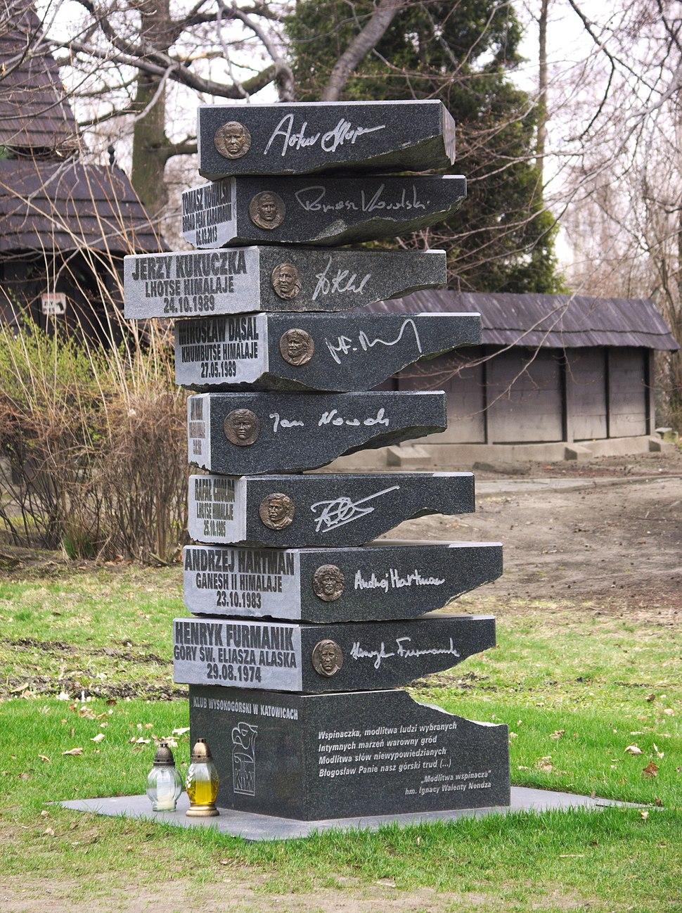 Rzeźba ku pamięci himalaistów