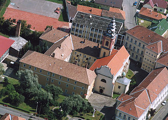 Sátoraljaújhely - Pauliner church and friary