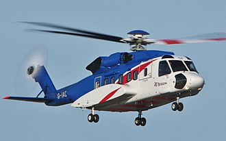 Sikorsky S-92 - An S-92 of Bristow Helicopters