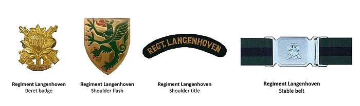 SADF Regiment Langenhoven insignia ver 2