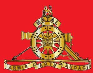 Natal Field Artillery - SANDF Natal Field Artillery emblem