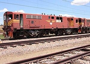 South African Class 7E2, Series 1 - Image: SAR Class 7E2 Series 1 E7174