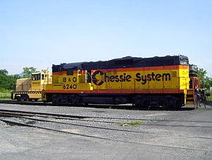 South Branch Valley Railroad - Image: SBVR 6240