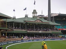 Photo de la tribune Member's Stand du Sydney Cricket Ground