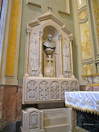 Gregorio Pietro Agagianian - The tomb of Agagianian at San Nicola da Tolentino, Rome
