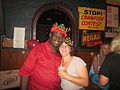 S Roch Tavern Al Johnson BDay King and Queen.JPG