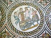 Sabratha - Museum mit Funden aus der Römerzeit, Mosaik 05