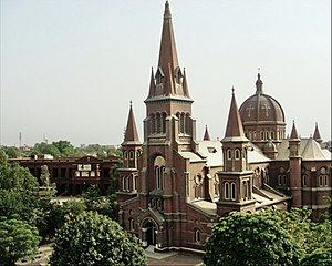 English: Sacred Heart Cathedral, Lahore