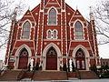 Sacred Hearts and St. Stephen - entrance.JPG