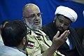 Saeed Ghasemi سخنرانی سعید قاسمی فرمانده سابق جنگ در قصر شیرین 09.jpg