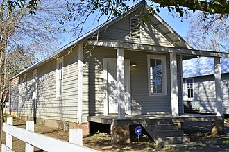 Greensboro, Alabama - The Safe House Black Historic Museum in Greensboro.  Martin Luther King Jr. hid here in 1968 to avoid the Ku Klux Klan. The home is now a museum documenting African-American history and the Civil Rights Movement.