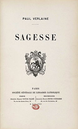 Image illustrative de l'article Sagesse (Verlaine)