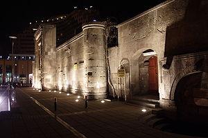 Kayseri Province - Image: Sahabiye medresesi (gece)