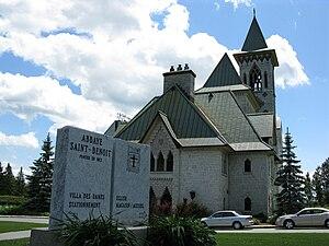 Lake Memphremagog - Saint-Benoît-du-Lac Abbey is located in the village of Saint-Benoît-du-Lac, Quebec. The village is on the western shore of Lake Memphremagog.