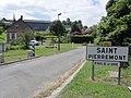 Saint-Pierremont (Aisne) city limit sign.JPG