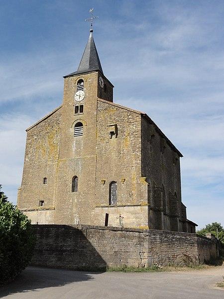 Saint-Pierrevillers (Meuse) église